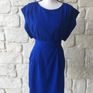 Eliza J Royal Blue Dress / Size 4